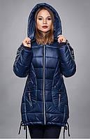 Зимняя  куртка   спинка изделия удлиненная