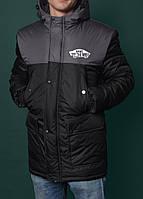 Зимняя куртка,парка мужская ванс,Vans Winter Parka Jacket