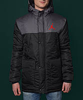 Зимняя парка мужская джордан,Jordan Winter Parka Jacket