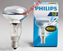 Лампа рефлекторна R50 Philips 40w E14