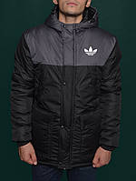 Модная зимняя куртка,парка мужская адидас,Adidas