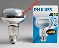 Лампа рефлекторная R80 Philips 75w E27