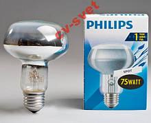 Лампа рефлекторна R80 Philips 75w E27