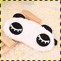 """Маска для сна """"Панда-веки""""."""