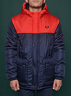 Парка зимняя мужская фред пери,Fred Perry Winter Parka Jacket