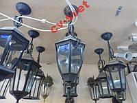 Фонарь садово-парковый металл PL6105 60w