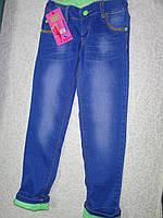 Весенние джинсы на девочку