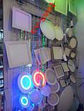 LED панель 8W 560LM Lemanso LM439 4500K+синий, фото 2