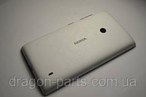 Задняя крышка  Nokia Lumia 520 белая оригинал , 02502Z7