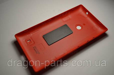 Задняя крышка  Nokia Lumia 520 красная оригинал , 02502Z8, фото 2