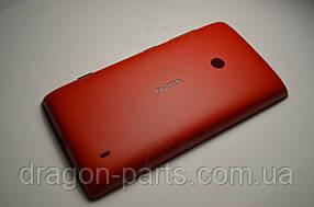 Задняя крышка  Nokia Lumia 520 красная оригинал , 02502Z8