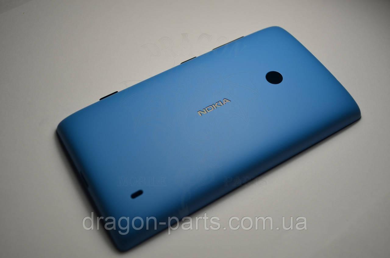 Задняя крышка  Nokia Lumia 520 синяя оригинал , 02502Z9