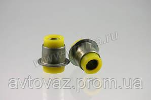 Сайлентблок рычага ВАЗ 2121, ВАЗ 2113, ВАЗ 21214, ВАЗ 2123 Нива верхнего,полиуретан vtulka 4 шт.