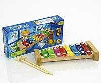 Ксилофон детский деревянный арт. 0459