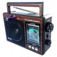 Радиоприемник GOLON RX-9966UAR, переносной радиоприемник со встроенным аккумулятором