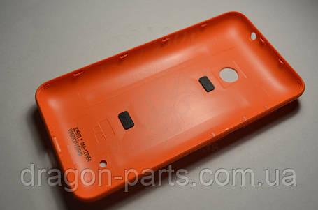 Задняя крышка  Nokia Lumia 530 оранжевая оригинал , 02507L1, фото 2
