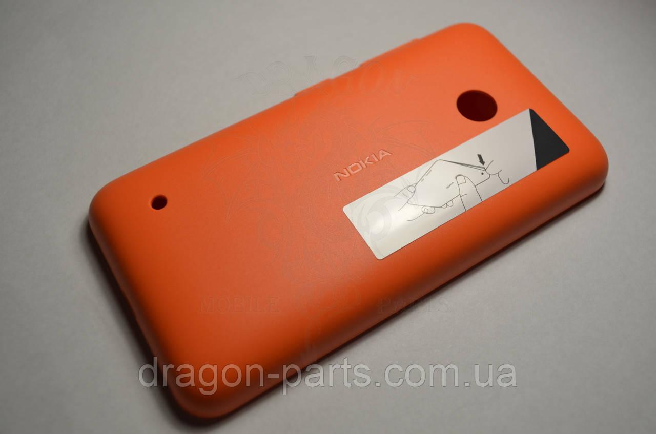 Задняя крышка  Nokia Lumia 530 оранжевая оригинал , 02507L1