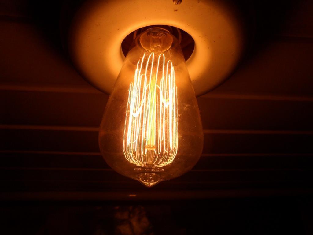 """Декоративная лампа """"колба"""" 40W E27"""