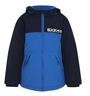 Куртка демисезонная синяя с капюшоном на мальчика 5-6 лет George (Англия)