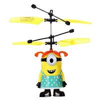 """Интерактивная игрушка Летающий Миньон """" Гадкий Я """"  Посіпаки - Девочка"""