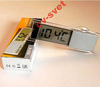 Цифровой термометр градусник на присоске для авто