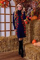 Вязаное платье Маки (4 расцветки), фото 1