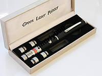 Лазерная указка 5в1 зеленый Лазер 5 насадок