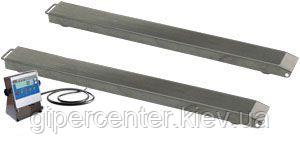 Весы реечные нержавеющие пыле-влагоустойчивые ТВ4-3000-1-Р(1200х90)-12h до 3000кг.