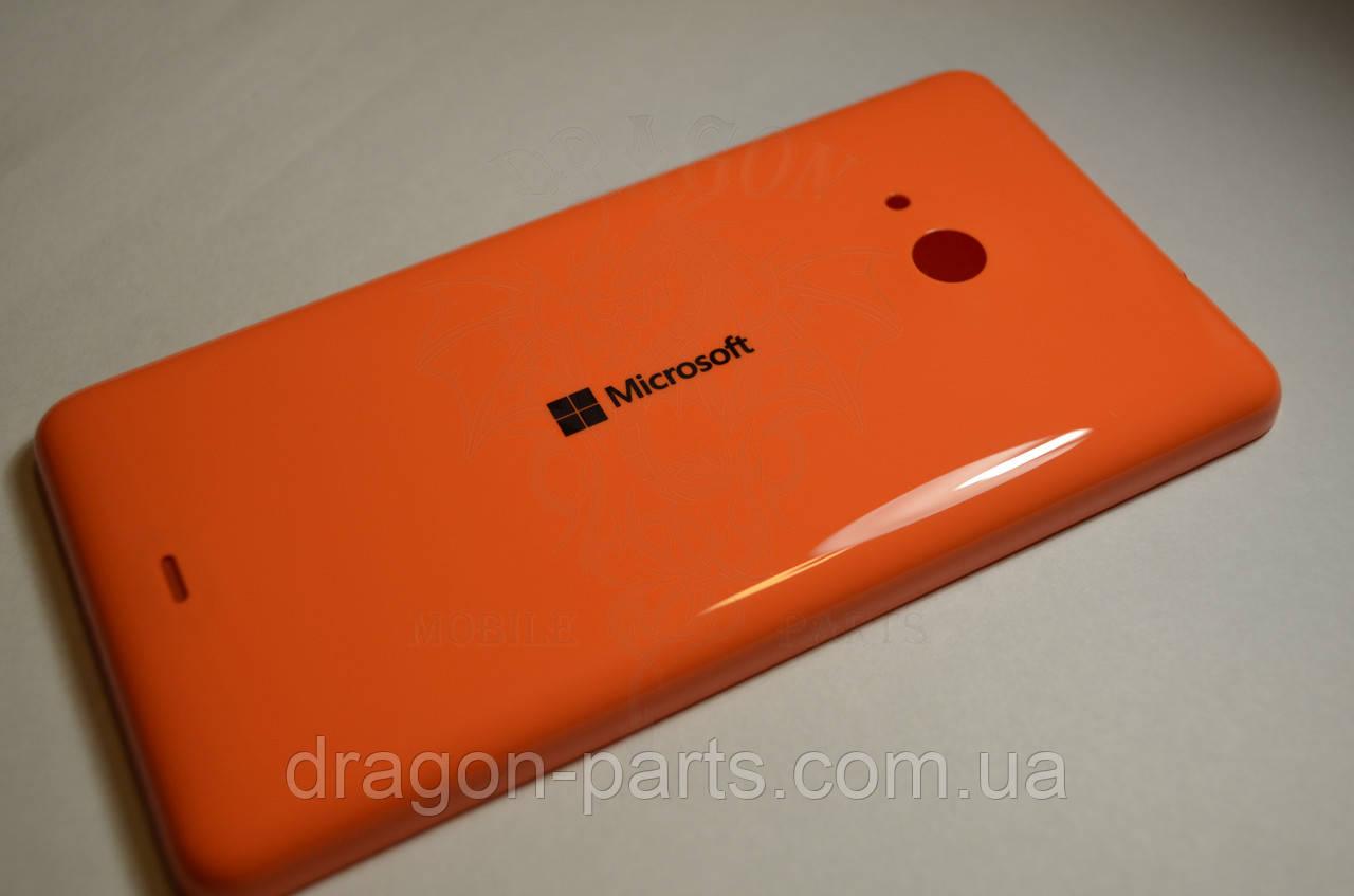 Задняя крышка  Microsoft Lumia 535 оранжевая оригинал , 8003488