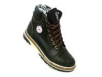 Зимние ботинки подросток стиль Timberland высокий, фото 1