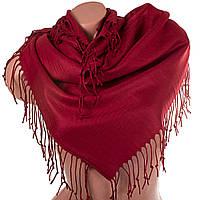Ozsoy Aksesuar (Озсой Аксесуар) Женский двухсторонний платок из пашмины 90 х 89 см