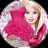 Барби 20 Вафельная картинка