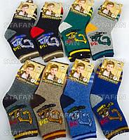 Детские шерстяные носки с махрой внутри Korona C3531 31-36 L. В упаковке 12 пар