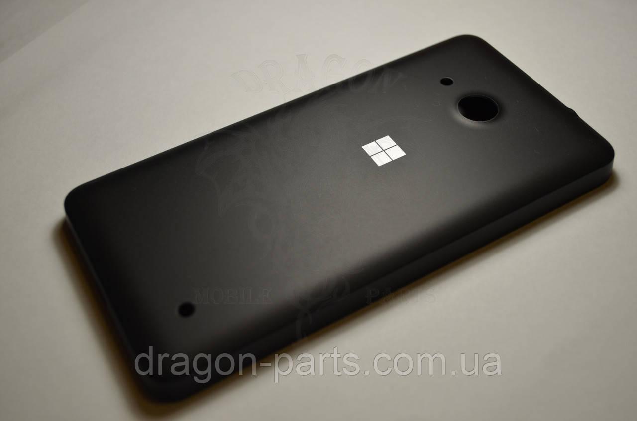 Задняя крышка  Microsoft Lumia 550 черная оригинал , 02510N2