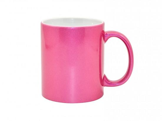 Чашка для сублимации перламутровая 330 мл (розовый)