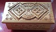 Скринька для прикрас на замочок 16*8*8 см, фото 1