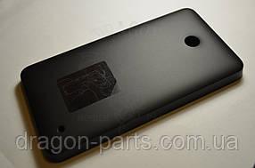 Задняя крышка  Nokia Lumia 630 черная оригинал , 02505S5