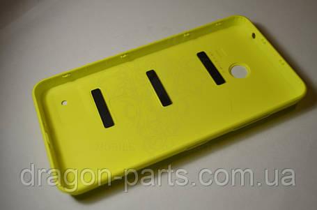 Задняя крышка  Nokia Lumia 630 желтая оригинал , 02506C3, фото 2