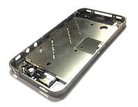 Средняя часть корпуса для iPhone 4S (silver) Качество