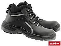 """Ботинки кожаные,стальной носок  Польша BRC """"POL"""" REIS"""