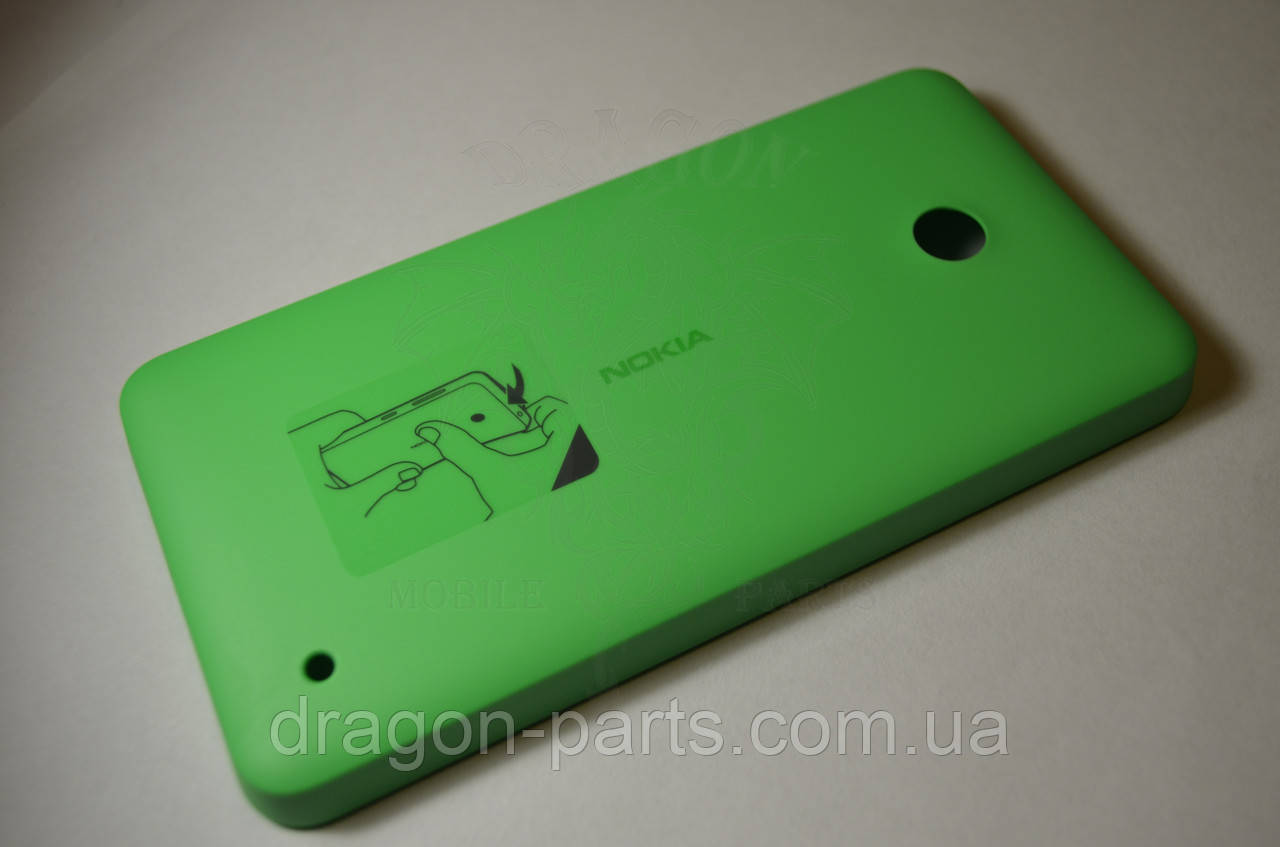 Задняя крышка  Nokia Lumia 630 зелёная оригинал , 02506C5