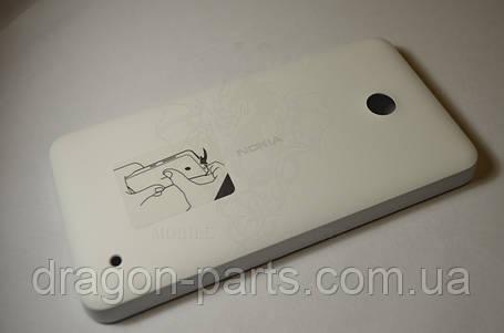 Задняя крышка  Nokia Lumia 630 белая оригинал , 02506C8, фото 2