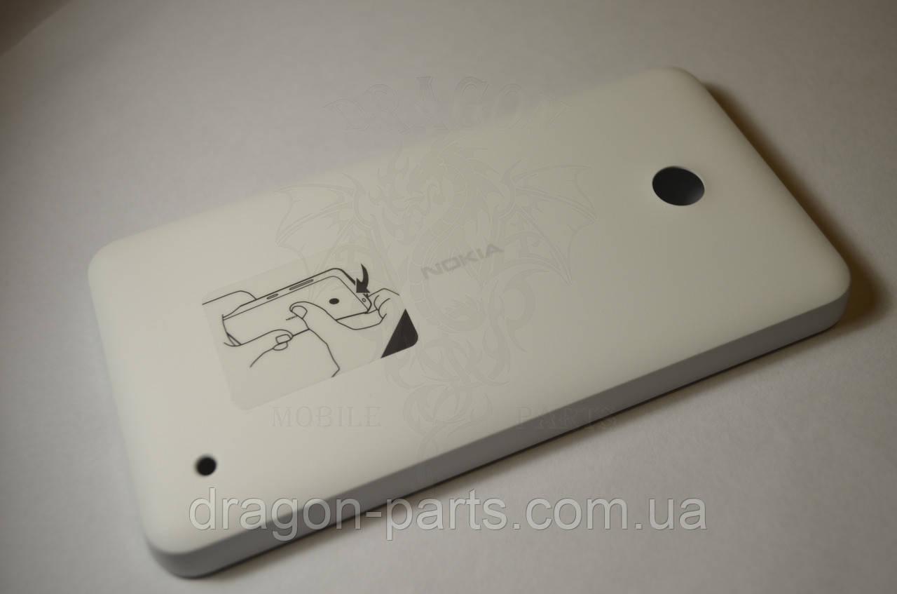 Задняя крышка  Nokia Lumia 630 белая оригинал , 02506C8
