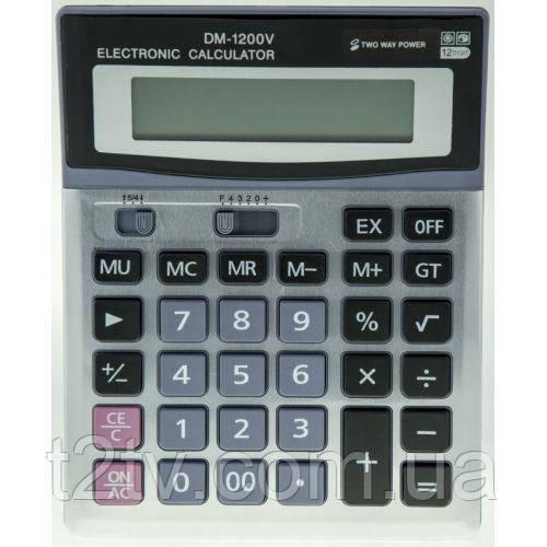 Бухгалтерский настольный калькулятор DM-1200V
