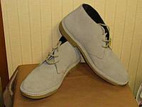 Ботинки мужские дезерты замшевые серые Hotter (Размер 42, (UK7,5))