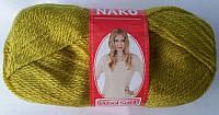 Полушерстяная пряжа Nako Soft Wool 6777