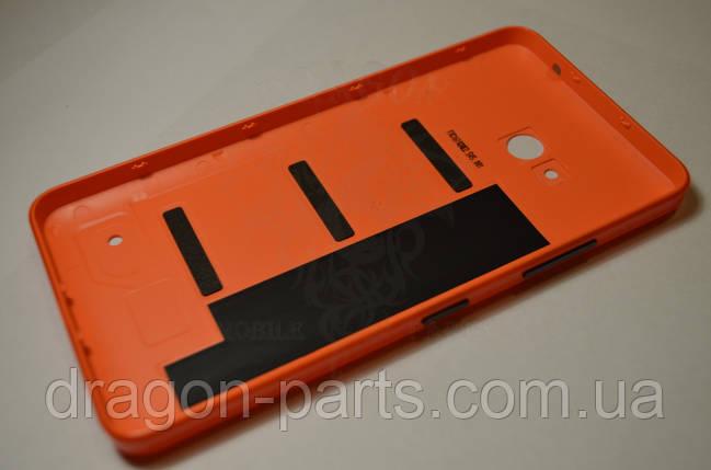 Задня кришка Microsoft Lumia 640 помаранчева оригінал , 02509P7, фото 2