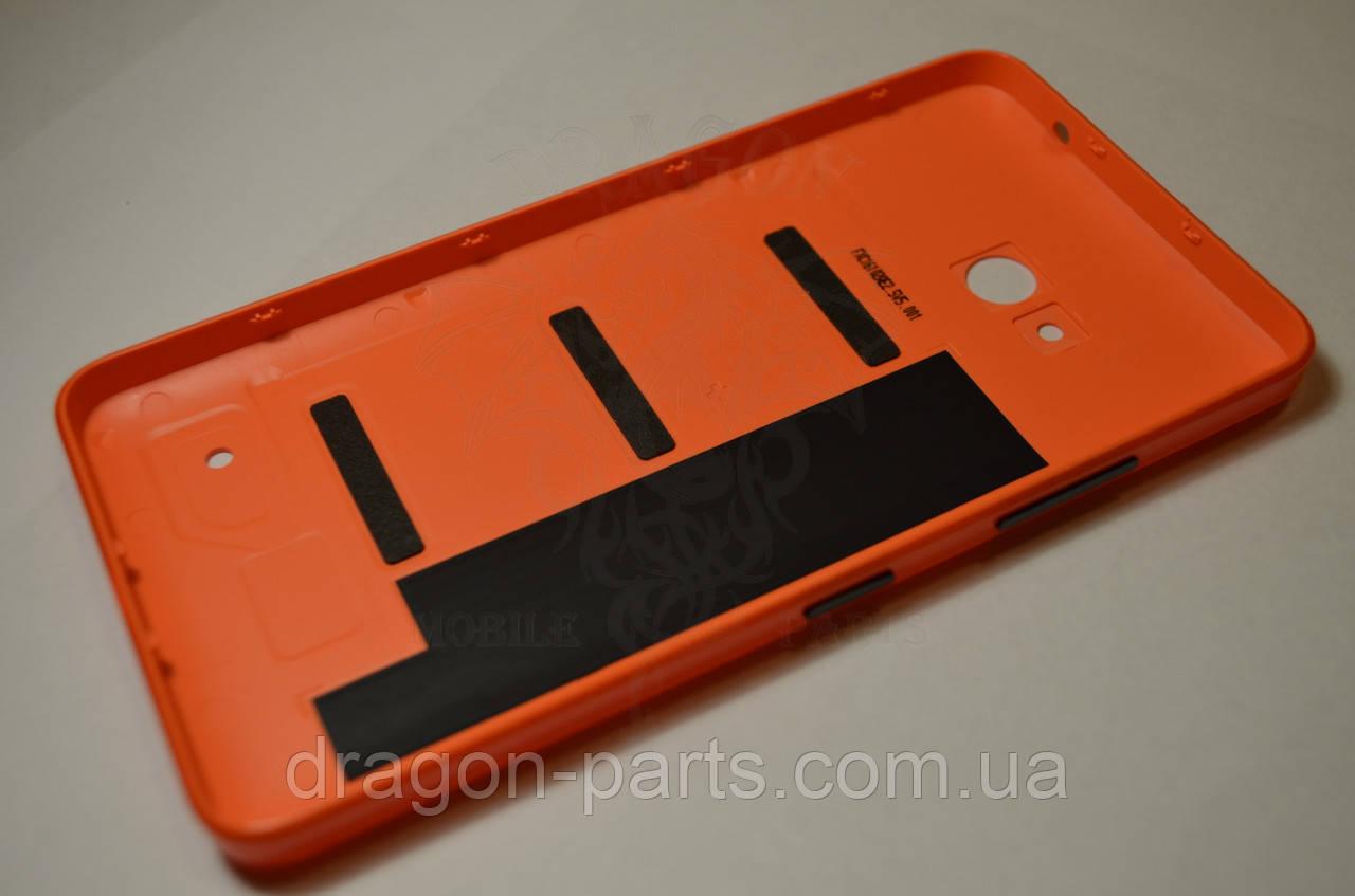 Задняя крышка  Microsoft Lumia 640 оранжевая оригинал , 02509P7