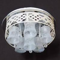 Потолочная люстра LED IMPERIA шестиламповая с пультом дистанционного управления и диодной подсветкой LUX-504445