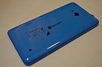 Задняя крышка  Microsoft Lumia 640 синяя оригинал , 02509R9
